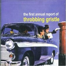 THROBBING GRISTLE - First Annual Report - CD - **Excellent Condition** - RARE