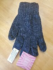 Exfoliating Charcoal Bath Gloves infused with Bamboo Charcoal