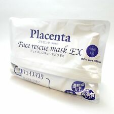 Placenta Face rescue mask Ex 40 pieces Facial Beauty From Japan