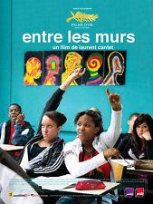 Affiche 40x60cm ENTRE LES MURS 2008 Laurent Cantet - François Bégaudeau BE