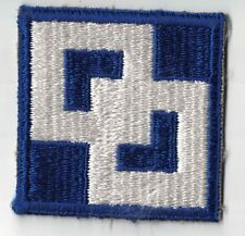 WWII US Army 2nd Service Command SSI Patch Cut Edge