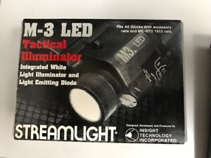 Streamlight M-3 LED (RED) Tactical Weapon Mount Flashlight