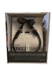 AfterShokz TREKZ Titanium Open-ear Bluetooth Headphones / Headset ( Slate Grey )