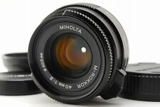 Mint Minolta M-ROKKOR 40mm f2 MF Lens Leica M Mount CLE from Japan a148