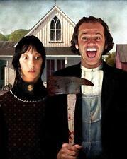 American Gothic-The Shining # 10 - 8 x 10 Tee Shirt Iron On Transfer mashup