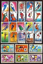 MONGOLIE 45 timbres :Toutes les disciplines du sport     331T3