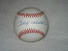 BILLY WILLIAMS HOF SIGNED AUTOGRAPHED NL BILL WHITE BASEBALL CHICAGO CUBS