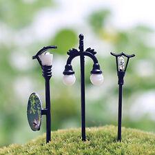 Mini Streetlights Garden Ornament