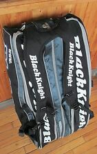 Very Large BLACK KNIGHT tennis badminton bag BackPack - Excellent condition