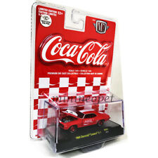 M2 MACHINES 52500 COCA COLA COKE 1969 CHEVY CAMARO ZL-1 1/64 RED Red Card Chase
