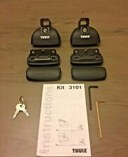 Thule 460/4602 Podium Foot Half Pack w/Kit 3101 &locks/keys.Free Expedited Ship!