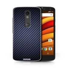 Étuis, housses et coques Pour Motorola Moto Z en fibre de carbone pour téléphone mobile et assistant personnel (PDA) Motorola