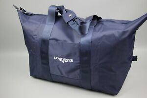Longines Foldable Sport Gym Treval Nylon Weekend Navy bag