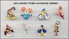 SERIE COMPLETE DE FEVES LOONEY TOON'S ACCROCHES VERRES WARNER