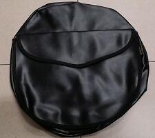 Copriruota di scorta nero pelle per Piaggio Vespa ruote 8 e 9 pollici