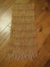 "Vintage Glentana Womens Scarf 44"" x 9"" rectangle Wool Mohair Nice Autumn Colors"