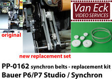 Bauer P6/P7 studio, synchron P6/ P7 - synchron belts replacement kit (PP-0162)