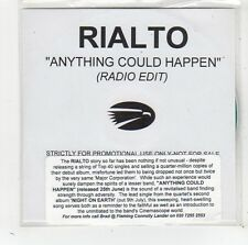 (FW30) Rialto, Anything Could Happen - DJ CD