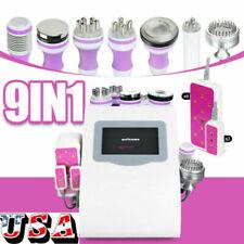 9 in 1 Ultrasonic 40K Cavitation Radio Frequency Vacuum RF Bio Slimming Machine