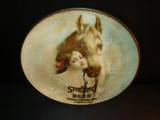 Circa 1900 Sterling Beer Tray Charger, Evansville Brewing, Indiana