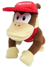 "New Little Buddy Super Mario 1587 All Star Collection - Diddy Kong 9"" Plush"