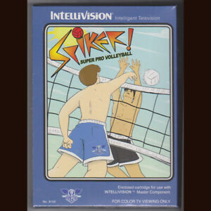 Spiker! Super Pro Volleyball for Intellivision. BSR official reprint  NIS