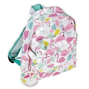 Flamingo Design Backpack, School, Overnight Bag - Fun Tropical Design, Gift