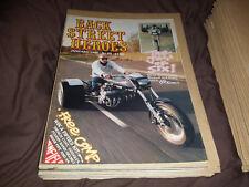 Back Street Heroes - Issue 69 - January 1990  - Motorcycle Magazine