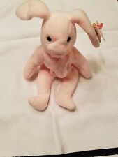 ERRORS Extremely Rare ORIGINAL 1996 Beanie Baby Hoppity Pink TY Bunny MAKE OFFER