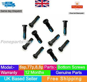10 x Bottom Screws Pentalobe Screw for iPhone 6/6+/6s/6s+/7/7+/8/8+ Black