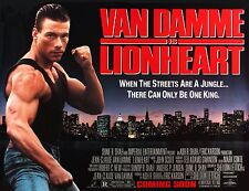 movie film repro lionheart awol van damme  Poster Print A3 This A Poster