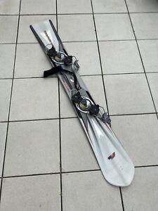 F2 Snowboard Raceboard Silberpfeil 172cm Conshox Platte