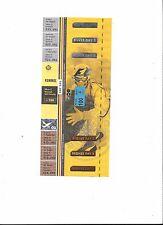 FORMEL 1 Spa / Belgien 2002, F1 Grand Prix von Belgien, Sammler Ticket, not used