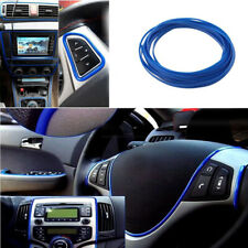 5M Line Car Truck Interior Decor Blue Edge Line Door Panel Accessories Molding