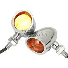 Bullet Heavy Duty MOTO RÉTRO tourner signaux indicateurs clignotants Tail Lights
