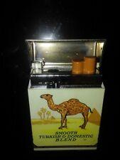 """Camel Lighter Vintage Filters Smooth Old 2 3/8"""" x 1 5/8"""" Hard Pack Flip Top"""