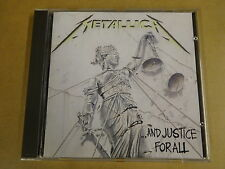 CD / METALLICA - ...AND JUSTICE FOR ALL