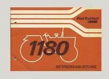 Fiat 1380  Betriebsanleitung Traktor Allrad Hinterrad Original 1980