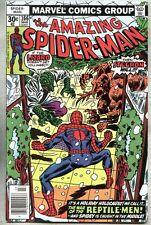 Amazing Spider-Man #166-1977 vf Spider Man Stegron Lizard