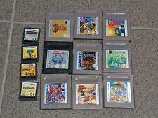 Nintendo Gameboy Spiele Sammlung wie Zelda  usw.