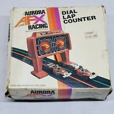 Vintage AURORA AFX TRACK RACING ACCESSORY #1493 DIAL LAP COUNTER IN BOX