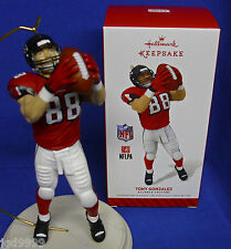 Hallmark NFL Football Ornament Tony Gonzalez 2014 Atlanta Falcons NIB Free Ship