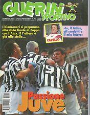 Guerin Sportivo.Juventus,Fabio Capello,Davide Fontolan,Francesco Colonnese,jjj