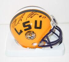 MORRIS CLAIBORNE signed LSU mini helmet auto GEAUX TIGERS Dallas Cowboys NY Jets