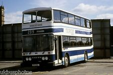Tayside No.89 Dundee Depot 1991 Bus Photo