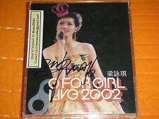 MusicCD4U CD Autograph Gigi Leung Liang Yong Qi G For Girl 2002 演唱會親筆簽名香港版