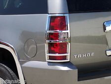 CHEVROLET SUBURBAN/TAHOE SUV 2007-2014 TFP ABS CHROME TAIL LIGHT COVER ACCENT