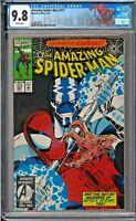 Amazing Spider-Man (1st Series) #377 CGC 9.8 White Cardiac Styx NEW SPIDER LABEL