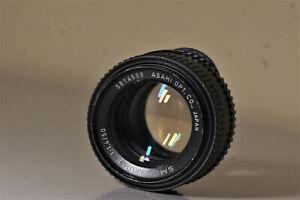 Asahi (Pentax) SMC Takumar 1,4/50 M 42 Lichtriese und Bokehmonster