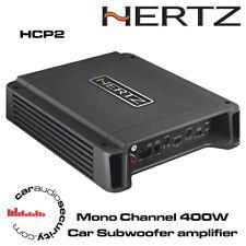 Hertz HCP2 Monoblock Car Amplifier Subwoofer Amp 400Watt